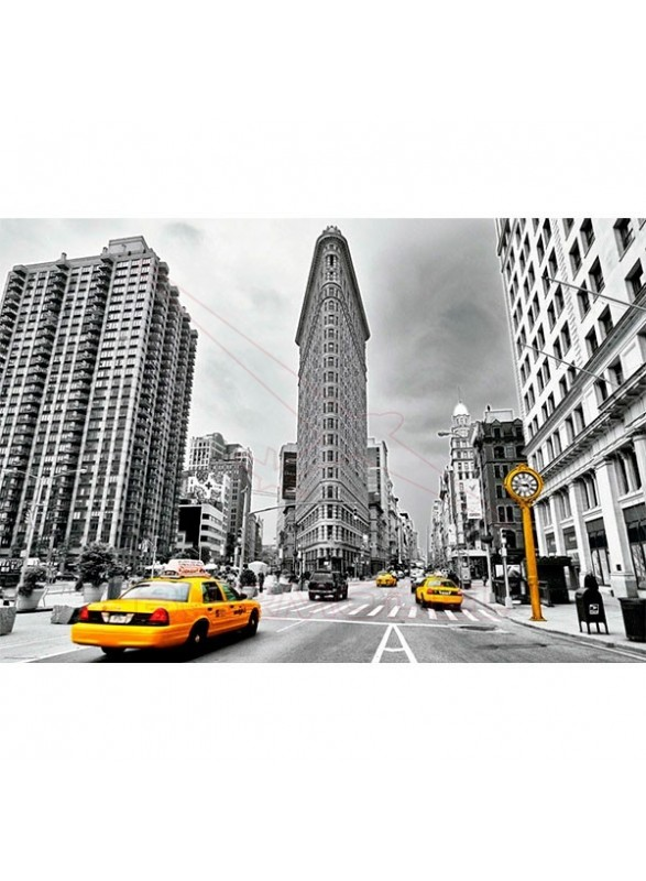 Puzzle Flatiron Building,, New York 1000 piezas
