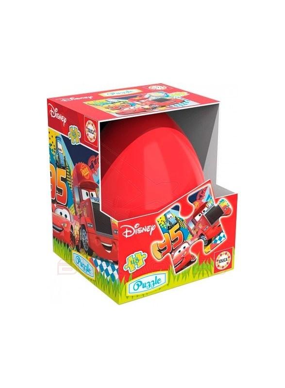 Puzzle huevo Cars 48 piezas