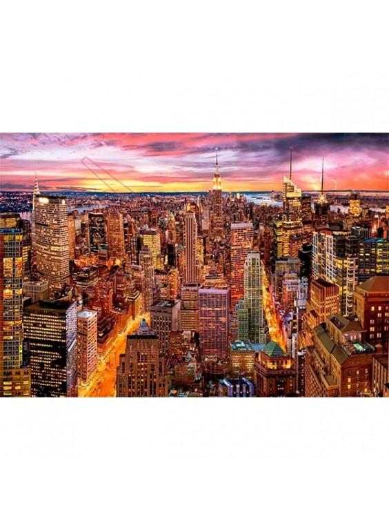 Puzzle Vistas de Manhattan 3000 piezas