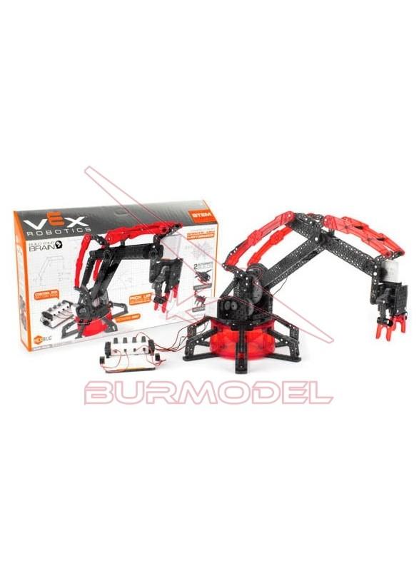 Brazo robótico con motor Vex Robotics 330 piezas