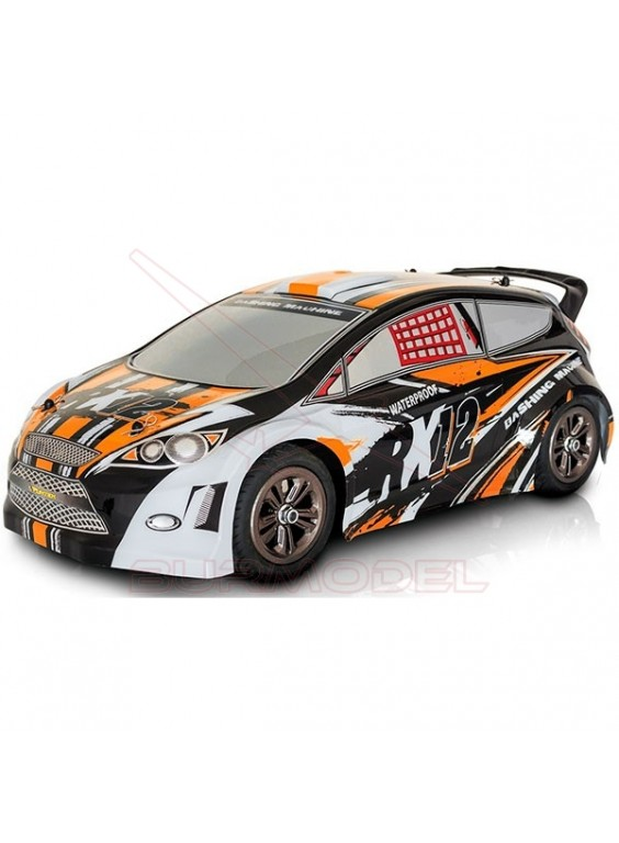 Coche de rally Funtek RX12 naranja escala 1/12
