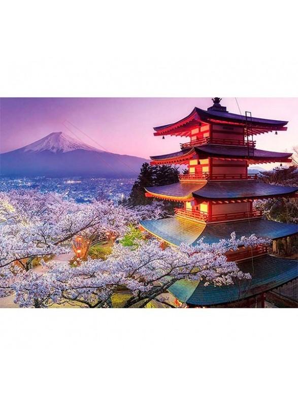 Puzzle Monte Fuji, Japón