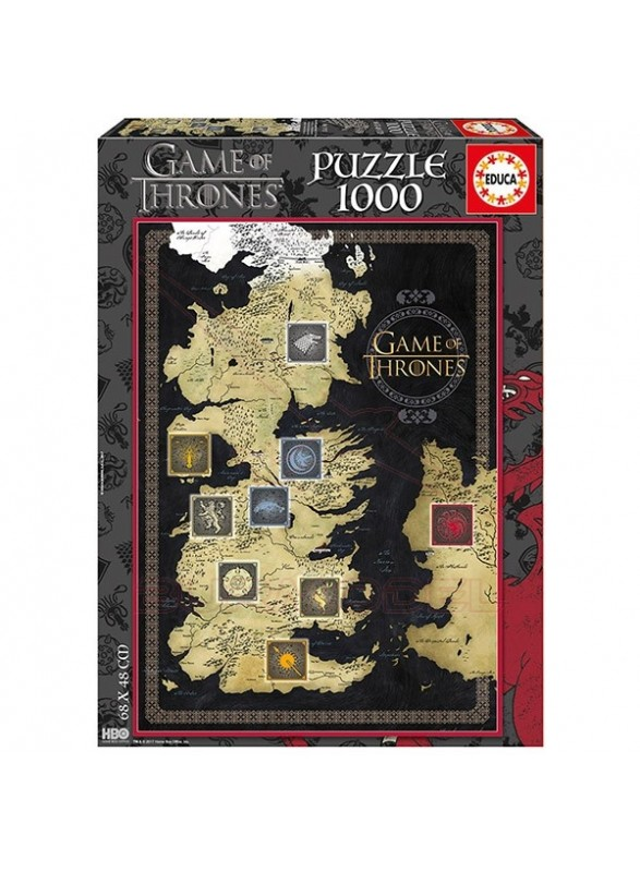 Puzzle Juego de tronos. Game of Thrones