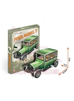 Puzzle 3D coche clásico 34 piezas