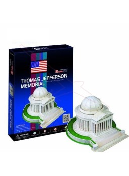 Puzzle 3D Thomas Jefferson Memorial 35 piezas