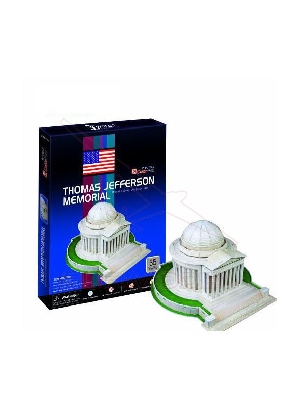 Puzzle 3D Thomas Jefferson Memorial 35 piezas