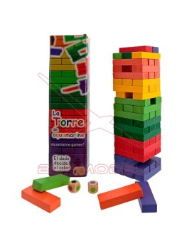 Juego La Torre de Colores XL
