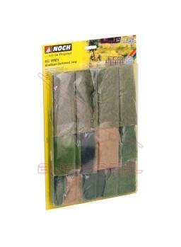Surtido de fibras de hierba largas