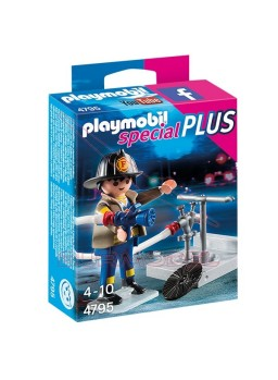 Playmobil Bombero con Manguera