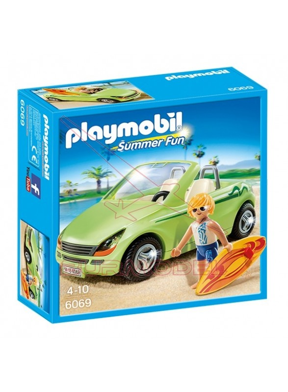 Playmobil Surfista con Descapotable