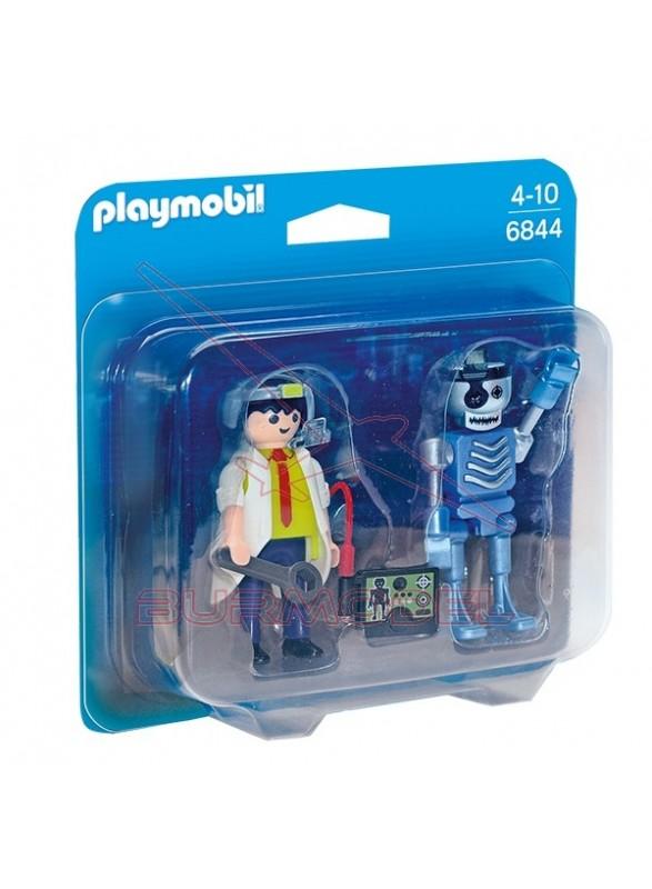 Playmobil Duo Pack Científico y Robot