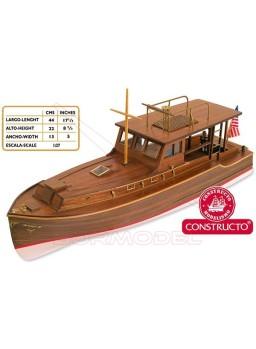Kit de madera para construir el barco PILAR