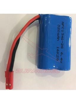 Batería 6,4v 320 mAh BEC para truggy RC TR017