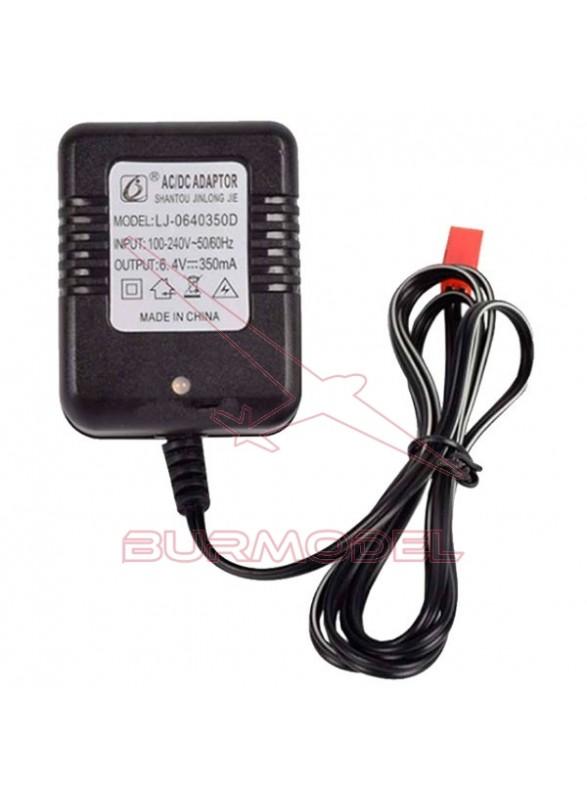 Cargador 6,4v 350 mAh BEC para truggy RC TR017