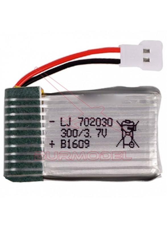 Batería de lipo 3,7V 300mAh