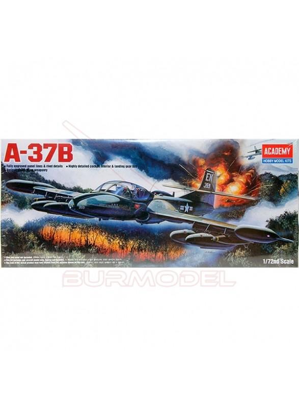 Maqueta avión Dragon Fly A-37B escala 1/72