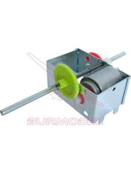 Reductora con Motor 1,5V-6V 23:1