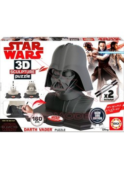 Puzzle Darth Vader Dark Side Edition 3D