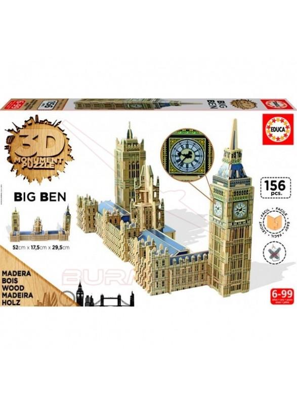 Puzzle Torre Big Ben 3D 156 piezas