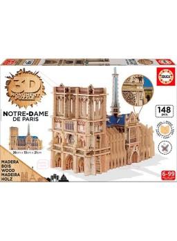 Puzzle Notre Dame de París 3D