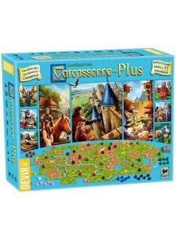 Juego de mesa Carcassonne Plus