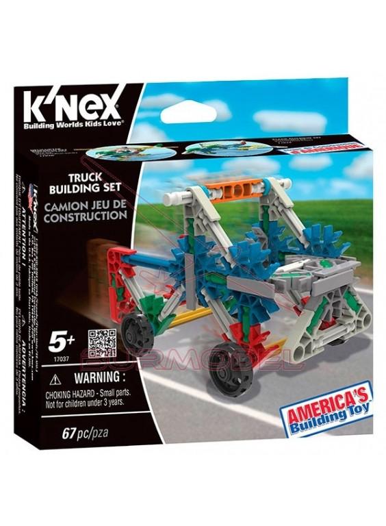 Knex juego de construcción camioneta 67 piezas