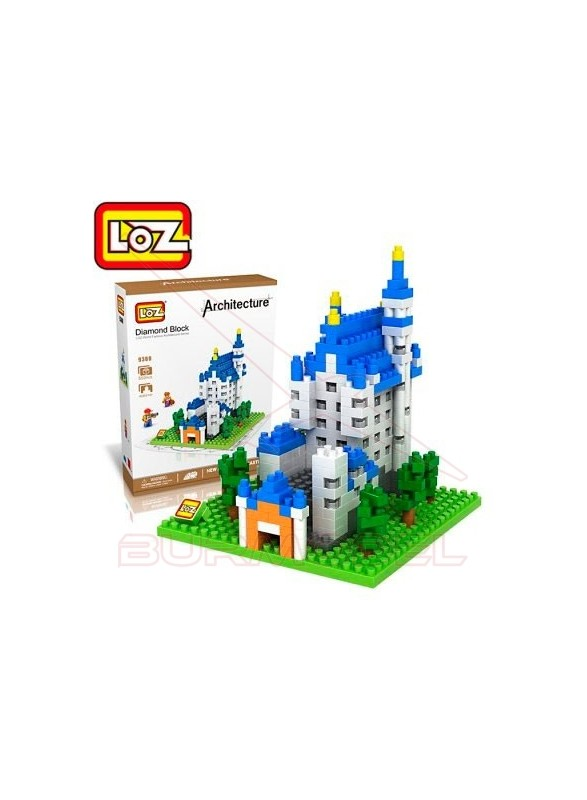 Juego mini bloques Castillo de Neuschwanstein 550p