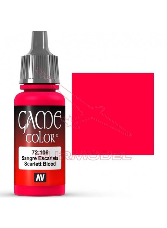 Game color sangre escarlata 17ml