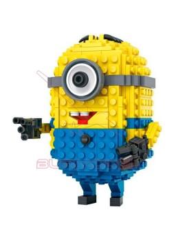 Personaje para montar con mini block Stuart minion