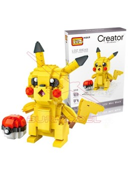 Construcción mini block Pokemon Pikachu 438 pzs