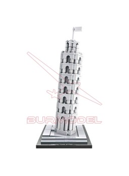 Kit para montar con mini block Torre de Pisa