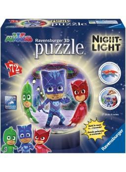 Puzzle lámpara con luz Pjmasks