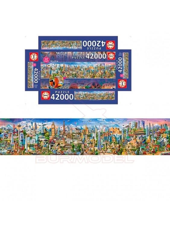 Puzzle 42000 piezas La vuelta al mundo.