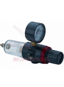 Filtro regulador con manómetro