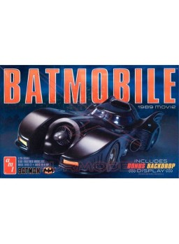 Maqueta Batmobile 1989 escala 1/25 Nivel 2
