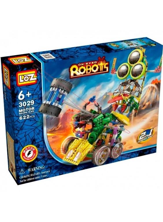 Robot espacial para montar 622 piezas