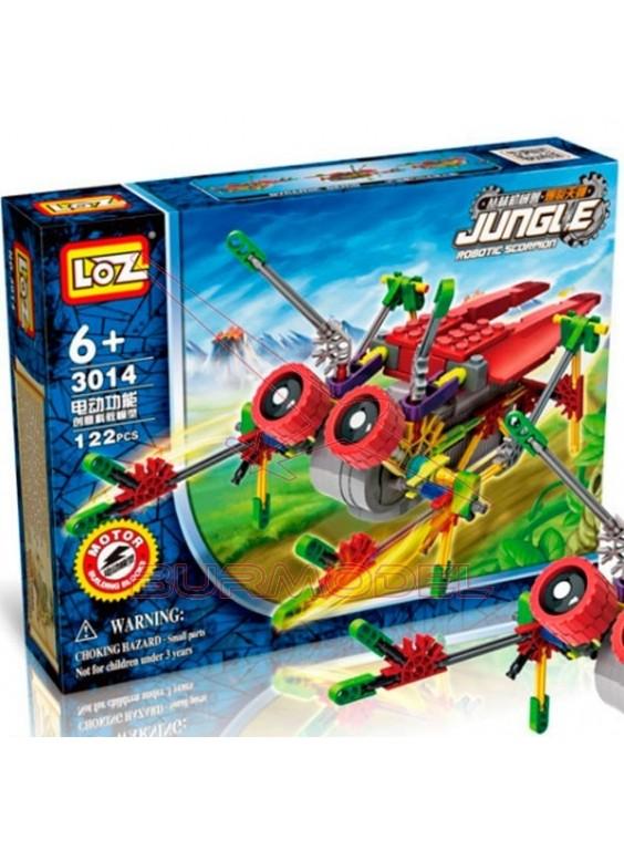 Construcción Robotic Jungle con motor