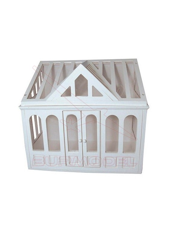 Conservatorio blanco para casitas