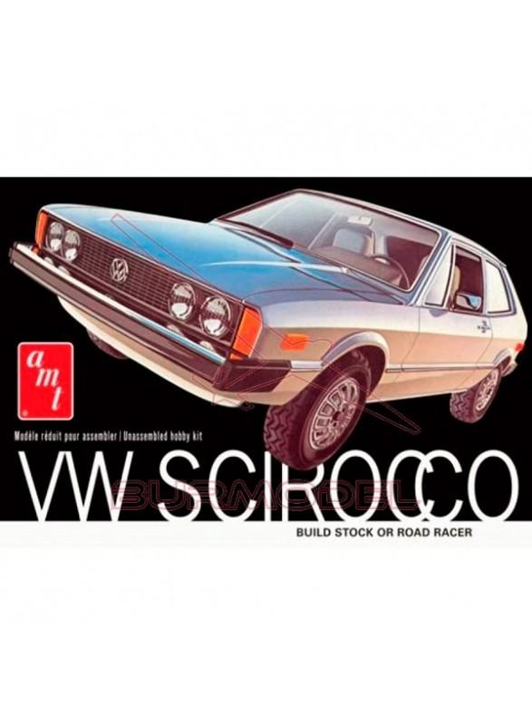 Maqueta para montar Volkswagen Scirocco 1:25