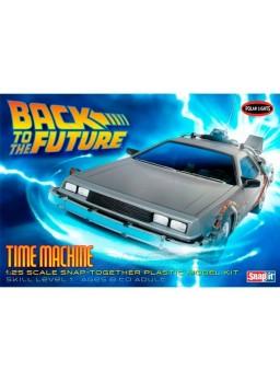 Maqueta Polar Lights coche regreso al futuro 1/25