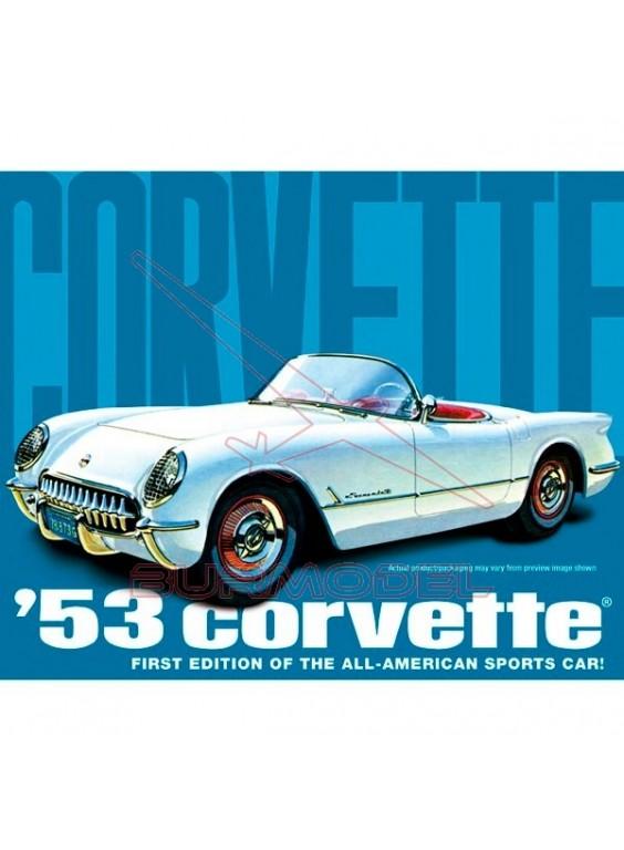 Maqueta para montar Chevy Corvette 1953 1/25