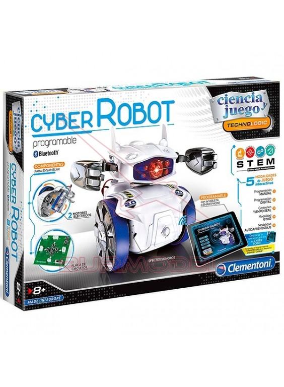 Cyber Robot en kit programable