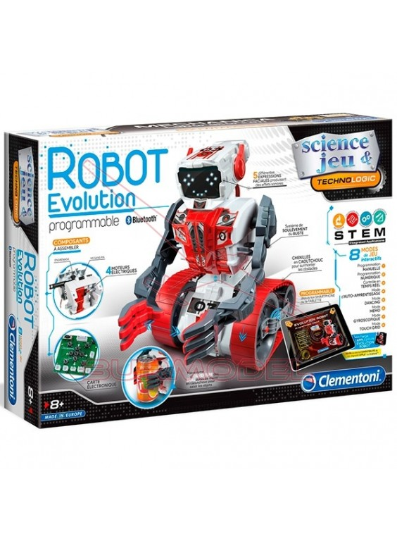 Evolution robot en kit programable