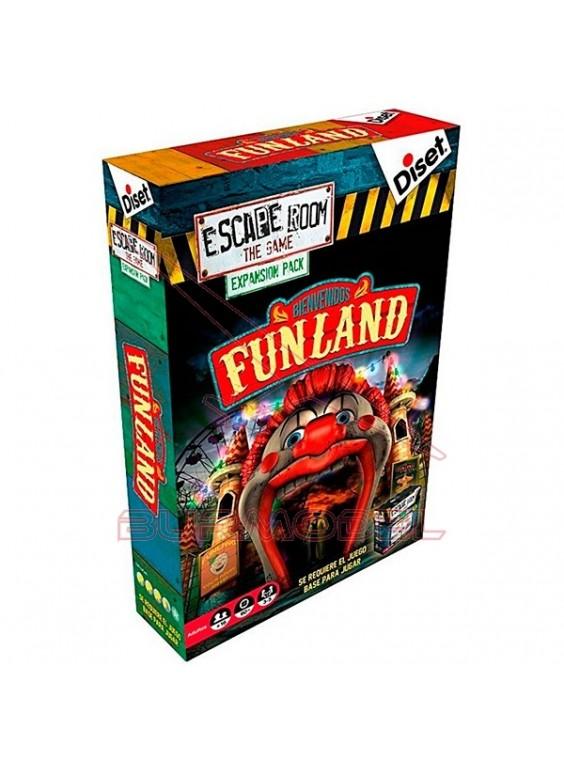 Pack expansión Escape Room Bienvenidos Funland