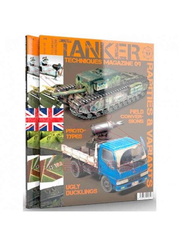 Revista Tanker 09 rarezas y variantes
