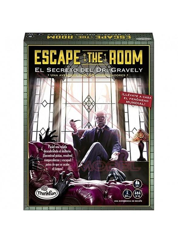 Escape room el secreto del Dr.Gravely