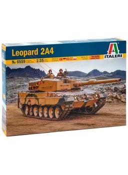 Maqueta para montar tanque Leopard 2A4 1:35