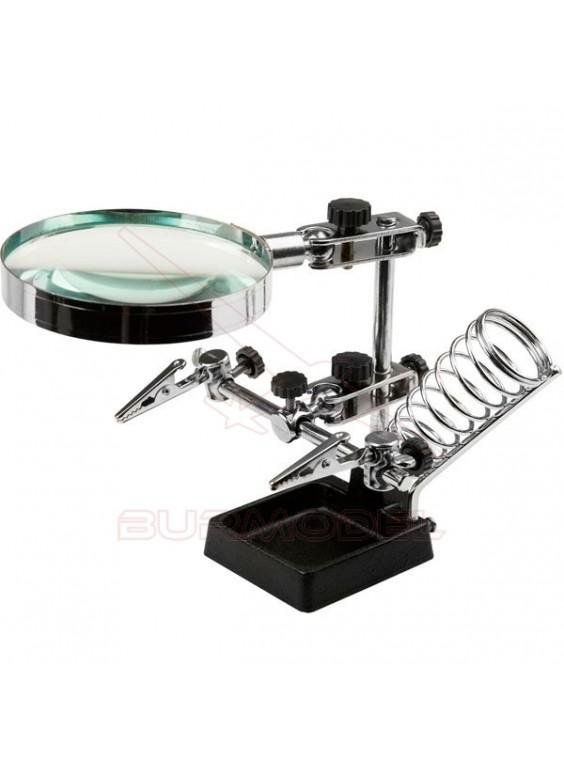 Robot electronica con soporte soldador