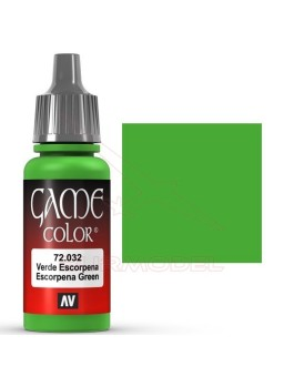 Pintura Game Color Verde Escorpena