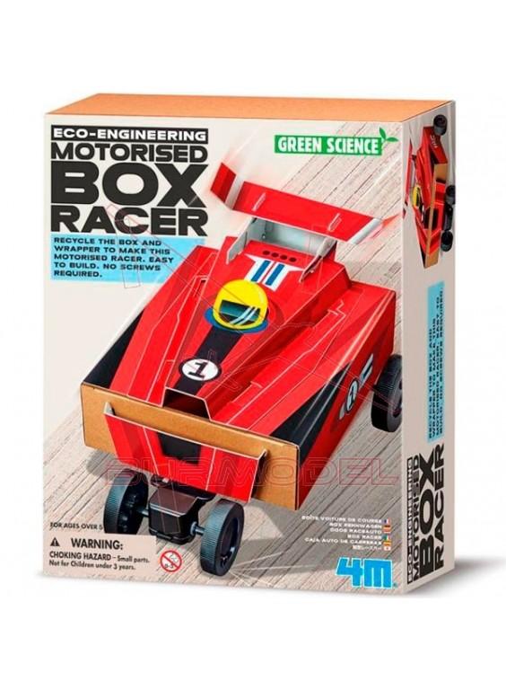 Juego de construcción 4M Box Racer